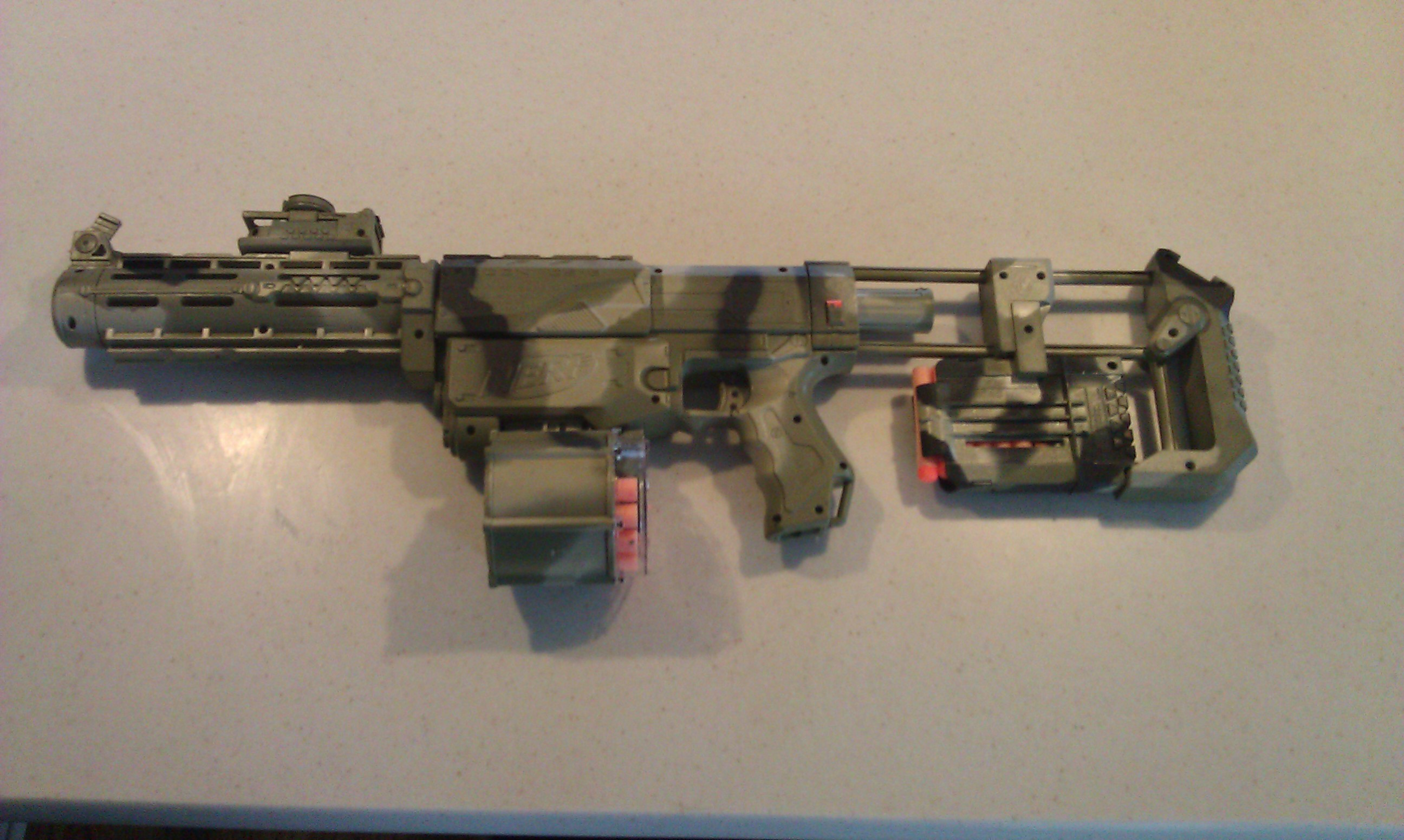 So here is my Nerf Retaliator, with a custom paint job! So, how do you ...