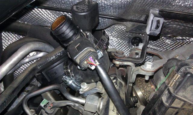 chrysler 300c egr valve location